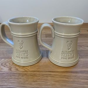 Other - Set of 2 Alexander Keith's Fine Beers Tanker Mugs